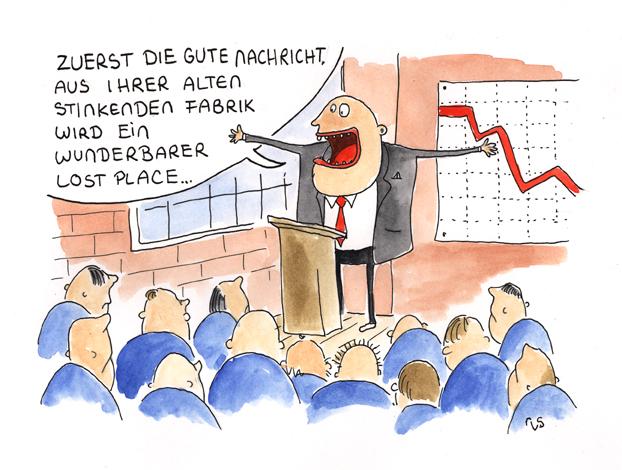 Zeichnung: Regge vom Schulzenhof