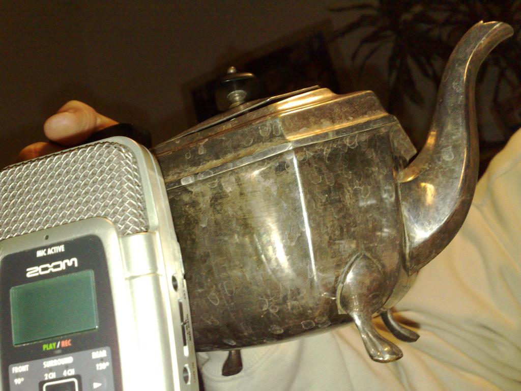 Tee zum Podcast