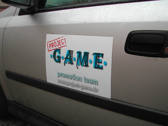 Project Game - Promotion Team on Tour in Schwerin