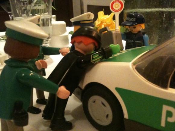 geocaching und polizei